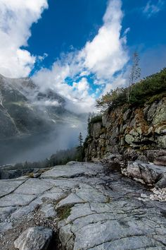 Morkie Oko Lake, Tatry Mountains, Poland