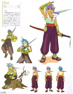 Digik Gallery - Artbook - Capcom - Breath of Fire - Image ID 15090 ★ || CHARACTER DESIGN REFERENCES (pinterest.com/characterdesigh) • Do you love Character Design? Join the Character Design Challenge! (link→ www.facebook.com/groups/CharacterDesignChallenge) Share your unique vision of a theme every month, promote your art, learn and make new friends in a community of over 12.000 artists who share the same passion! || ★