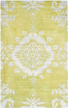 STW235A  Safavieh yellow rug