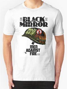 Fire T-Shirt - Black Mirror T-Shirt at Redbubble!