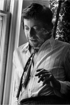 Serge Gainsbourg, London, 1970. Photo by Ian Berry.