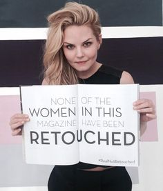 Jennifer Morrison @jenmorrisonlive · Day 70: DARLING MAGAZINE shoot! #realnotretouched @darlingmagazine #101SMILES #UglyDuckings