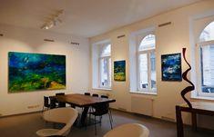 Galerie Amart Austrian Modern Art - INTRODUCING ERZSEBET NAGY SAAR Modern Art, Flat Screen, Gallery, Painting, Blood Plasma, Roof Rack, Painting Art, Flatscreen, Paintings