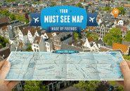KLM transforma dicas de amigos em mapa personalizado