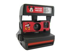 Polaroid Mickey Mouse - OMG. Why do I NOT have this?