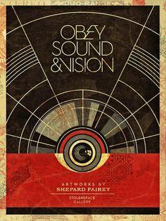 Shepard Fairey – Sound & Vision | -::[robot:mafia]::- .ılılı. electronic beats ★ visual art .ılılı.