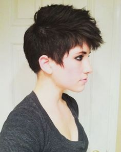 Pixie Haircuts 2017 Round Faces Undercut for Thick Hair
