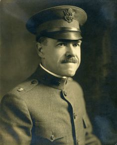 This blog post outlines Bashford Dean's contribution to the design of American helmets during World War I. | Major Bashford Dean, ca. 1917. The Metropolitan Museum of Art, Arms and Armor Departmental Archives