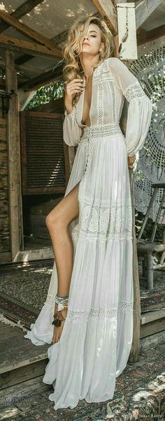 Perfect Bohemian wedding dress