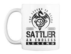 Sattler Legends Alive White T-Shirt Front