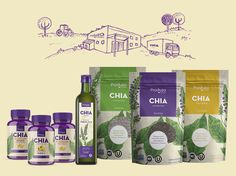 "Check out this @Behance project: ""CHIA - Produza Foods"" https://www.behance.net/gallery/46028037/CHIA-Produza-Foods"