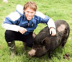 Comedian John Bishop adopts RSPCA pig after wife 'falls in love' with his video