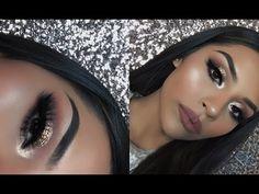 New Years Glam Makeup Tutorial   Sarahy Delarosa - YouTube