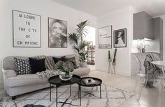 If you want a Scandinavian living room design, there are some things that you should consider and implement for this interior style. Home Living Room, Interior Design Living Room, Living Room Designs, Living Room Decor, Interior Livingroom, Gravity Home, Living Room Inspiration, My New Room, Furniture Plans