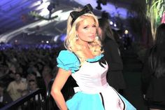 #Parishilton is #Alice in Wonderland... http://www.oyacostumes.ca/eg/Theme-Costumes-Sally-and-Jack-Skellington-Costumes/Charming-Alice-Costume