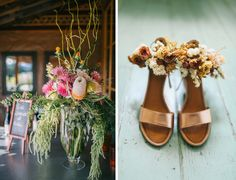 Portland Wedding, Mt Hood Organic Farms, Natural Feather Boquet, Euphloria Portland Florist