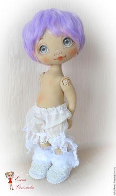 Купить Я - Зайка! - кукла, сиреневый, зайка, Новый Год, подарок, куколка, игрушка