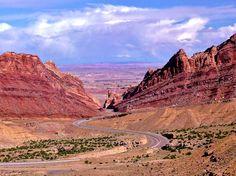 Eastbound I-70, Utah Colorado Border