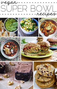 Vegan superbowl food recipes