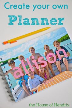 Great for teachers. Customize exactly what you want in your planner and nothing more. Add pages for grading  attendance, even to music sheets. Chart your fitness goals, all in one planner. I LOVE this and it's adorable!