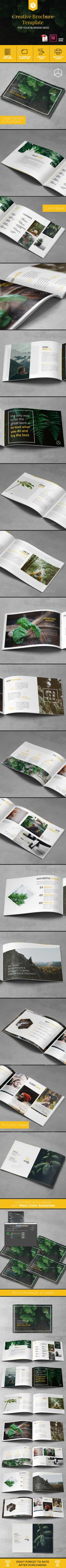 A5 Creative Brochure Template - Corporate Brochures Download here : https://graphicriver.net/item/a5-creative-brochure-template/19676664?s_rank=50&ref=Al-fatih