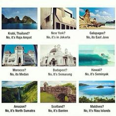 All in one #Indonesia