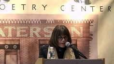 Dorianne Laux reading Letter to my dead mother at Paterson Poetry Center...