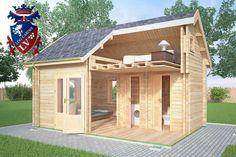 Micro Log cabin 614 Micro Cabin size - 4.0m x 5.7m Micro Log Cabins size internal - 3.3m x 5.0m Mainroom size - 3.3m x 2.4m Bathroom size - 1.6m x 1.3m Pantry size - 0.7m x 1.1m Drawer size - 0.8m x 1.1m Kitchen size - 1.6m x 2.5m Window Size - 3x 1130mm x 710mm Window Size - 3x 500mm x 500mm Windows size - 2x 850mm x 500mm (triangle) Door size - 1x 1930mm x 1410mm Door Size - 1x 1930mm x 830mm Door size - 3x 1930mm x 650mm  Wall height - 2.5m Ridge height - 3.6m  www.logcabins.lv