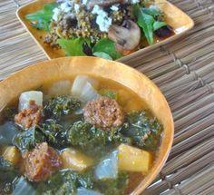 Great Goods at the Johns Falls Expressway (JFX) Farmers Market  Caldo Verde (Portugese Kale Soup)