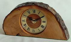 craft wood clock | American Black Walnut with barometer