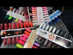 baseveheinails: Pokaz Semilac w Opolu - Wszystkie kolory lakierów Semilac na wzornikach