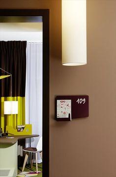 25hours Hotel Zürich West - Zurich, Switzerland - 2012 by Alfredo Häberli   #bedroom #109