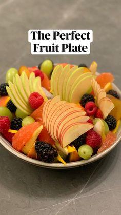 Fruit Salad Recipes, Appetizer Recipes, Appetizers, Vegetarian Recipes, Cooking Recipes, Healthy Recipes, Deco Fruit, Good Food, Yummy Food