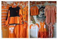 It's that time of year again and in Tennessee orange is the season's fashionable color of choice! Items in this week's window display will be available in the Samaritan Center thrift shop at 9 a.m. on Monday, September 9. Aside from clothing, we'll also have blankets, stuffed animals, shoes, and bags. Are you a fan?