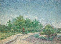 Square Saint-Pierre, Parigi di Vincent Van Gogh 1887