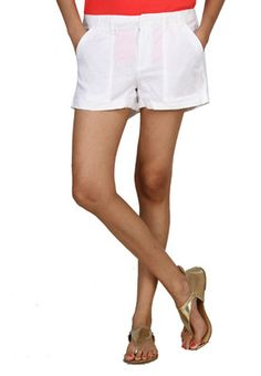 Levis Women Standard Nautical Blue Shorts | Myntra via @Myntra.com ...