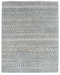 Zahira Moroccan Rug - Grey/Indigo  Restoration Hardware  8x10  $3,596