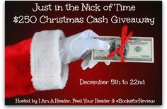Just in the Nick of Time $250 Christmas Cash #Giveaway – D.E. Haggerty