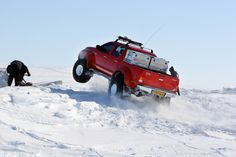 Toyota Hilux Top Gear North Pole Pics