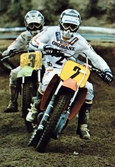 Motocross Bikes, Vintage Motocross, Off Road Racing, Cute Posts, Dirtbikes, Offroad, Old School, Baby Animals, Cool Pictures