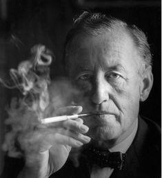 Ian Flemming  (James Bond author)