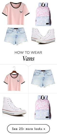 """""""Untitled #102"""" by miss-arianne on Polyvore featuring Alexander Wang, Vans and Converse"""
