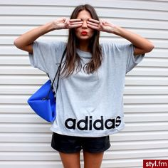 Oversized Adidas Tee