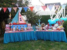Francisco's Super Party!! Ositos Marineros.. Cute!
