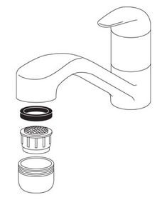 How to fix a faucet that spits.  Something to keep in mind at the next apartment, since inevitably this problem comes up!