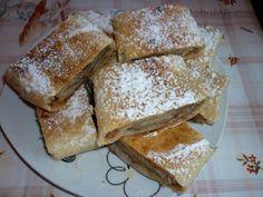 Pivní štrúdl (závin) Pecan Pralines, Czech Recipes, Strudel, Desert Recipes, International Recipes, Amazing Cakes, French Toast, Bakery, Food And Drink