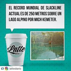 #Repost @lattediario with @repostapp  Todos haciamos slack de pequeños sobre cara muro que veiamos :$ #LatteDiario #curiosidades #sabiasque #curioso #slackline #slack #deporte #mich #kemeter