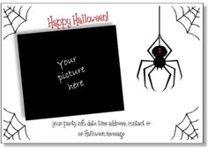 printable halloween party invitation templates halloween cards to print for free personalized halloween invite - Free Halloween Invite Templates