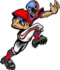 cartoon football player - Google Search | Football ...