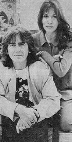 George Harrison and Olivia Arias-Harrison  Olivia Trinidad Arias (married 1978–2001)